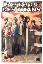 manga L'Attaque des Titans Tome 17 Seinen Hajime Isayama Pika Shingeki no Kyojin