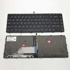 OEM New For HP Probook 430 G3 440 G3 445 G3 US black Backlit keyboard With Frame