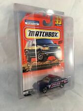 MATCHBOX 1999 #33 Crown Vic Police Car - Mint to NM Card in Protective Case