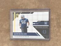 2018 Panini Unparalleled Superplaid Quenton Nelson Rookie RC /150 #300 Colts