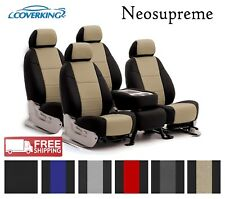 Coverking Neosupreme Seat Covers-2 Row Ford F-250 F-350 Super Duty- Choose Color