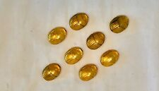 Gold scarab beads for beading making jewelry craft metal in brass and/or copper