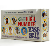 2018 TOPPS HERITAGE HIGH NUMBER BASEBALL SEALED HOBBY BOX IN STOCK FREE SHIPPING