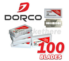 DORCO NEW Platinium Stainless Blade ST-301 Double Edge Razor Blades