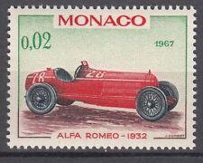 TIMBRE MONACO NEUF N° 709 *  VOITURE DE VAINQUEURS GRAND PRIX  ALFA ROMEO 1932