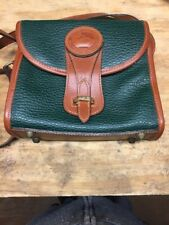 Dooney & Bourke 'Vintage Small Essex' AWL Green Crossbody Bag