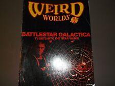 Vintage Horror Mag. Weird World Issue #1-1978/Galactica/Trek Moton/Authors