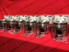 CUMMINS 5.9 5.9L PISTONS 2004.5-08 MAHLE +.020 17:1 H/O Matched & Balanced Set/6