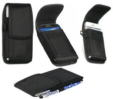 Universal Nylon Belt Pouch Case Cover Holster Bag for iPhone Samsung All Mobiles LG Optimus L7 P700