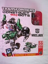 TRANSFORMERS Construct Bots-WHEELJACK,Elite Class Build autobot transformer,MISB