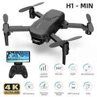 H1 Mini RC Drone With 4K HD Camera WIFI FPV Foldable Quadcopter Altitude Xmas AU