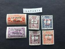 Latakia Stamp Lot