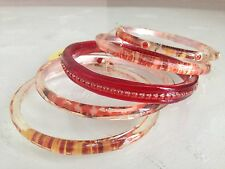 ORNA LALO Treasures Handcrafted Set 5 Bangle BRACELETS Goldies Goodies BN2550-3
