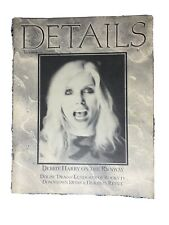 DETAILS Magazine December 1985 Debbie Harry 80s Fashion Christmas Ads Calendar