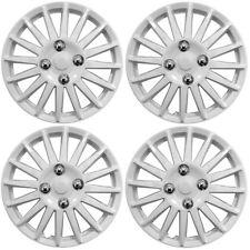 """Aleación de deporte Look Set 4 X 14 Pulgadas Blanco cubierta de rueda Trim Tapacubos 14 """""""