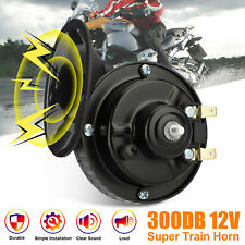 12V 300DB Super Loud Train Horn Waterproof for Motorcycles Cars Truck SUV Boat