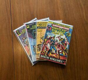 Random Lot Lone Ranger Comics #23 #24 Classics Illustrated #24 Rawhide Kid #22