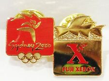 FUJI XEROX OPERA HOUSE GOLD SYDNEY OLYMPIC GAMES 2000 PIN BADGE COLLECT #717