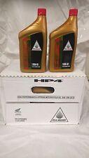 1 Case/12 quarts Honda HP4 Semi-Synthetic Oil 08C35-A14W0M 10w40 MX ATV