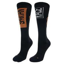 Reebok Spartan Race Unisex Knee Socks Black Ergonomic Running Training Sports