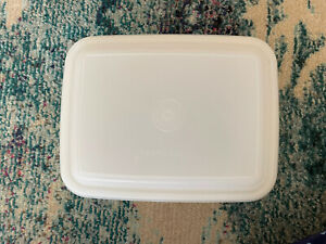 VINTAGE TUPPERWARE FREEZE N SAVE ICE CREAM KEEPER CONTAINER - GOOD CONDITION