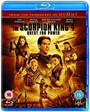 The Scorpion King 4 Quest for Power [Bluray] [2015] [DVD]