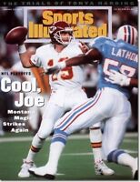 January 24, 1994 Joe Montana Kansas City Chiefs Sports Illustrated