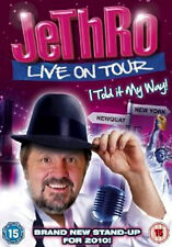 Jethro Live On Tour: I Told It My Way! Dvd Brand New & Factory Sealed (2010)