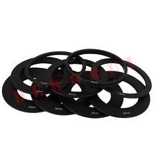 9PCS Ring Adapter set 49mm 52mm 55mm 58mm 62mm 67mm 72mm 77mm 82mm f Cokin P