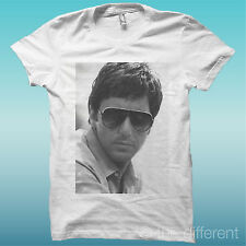 """T-SHIRT """" AL PACINO OCCHIALI """" BIANCO THE HAPPINESS IS HAVE MY T-SHIRT NEW"""