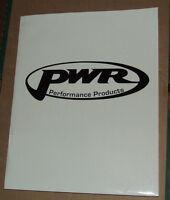 PWR Performance Parts Dealer  Catalog USA 2002/3 Edition RARE