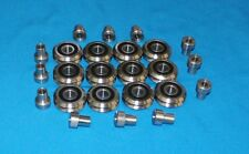 "RM2-2RS 3/8"" SEALED V-GROOVE CNC BEARING + BUSHG  12 PCS - SHIPS FROM THE U.S.A."