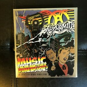 Aerosmith Music From Another Dimension Limited Deluxe Edition 2CD DVD