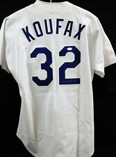 Sandy Koufax Los Angeles Dodgers Signed Authentic Jersey JSA Authenticated