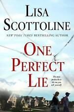 One Perfect Lie by Lisa Scottoline PB