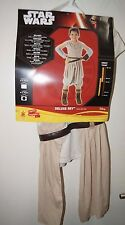Licensed Star Wars Ray Deluxe Children's Costume Size 3-5, Height 115cm to 135cm