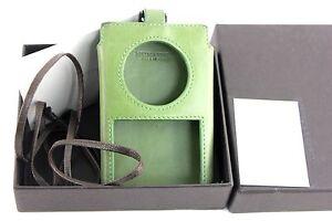 Auth Bottega Veneta Green Leather Ipod Classic Case Cover 6th Generation Vintage