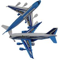 6x Spielzeug Flugzeug Flughafen Jumbo Jet Flieger Mitgebsel Kindergeburtstag