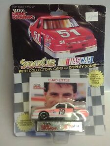 RACING CHAMPIONS NASCAR Die Cast Stock Car # 19 Chad Little w/ Stand NEW