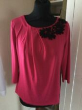 CC Decorative Neckline Soft Feel Top Sz 10 / 12