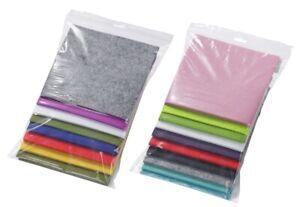 (1,48 € / 100 gr) Filzreste zum Basteln in verschiedenen Farben