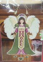 Janlynn Hope Angel Plastic Canvas Counted Cross Stitch Kit Christmas hanging