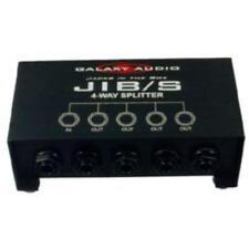"""Galaxy Audio JIBS Galaxyaudio 4way 1/4""""splitter"""