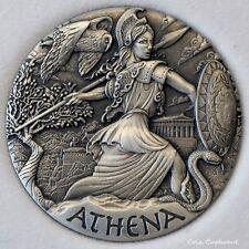 2015 - Tuvalu $2 GODDESSES of OLYMPUS series - ATHENA (Goddess of Wisdom & War)