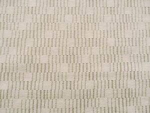 DESIGNER WOVEN CHENILLE GEOMETRIC SQUARES UPHOLSTERY FABRIC $13.99/YD BTY 441FS