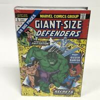 The Defenders Omnibus Volume 1 Gil Kane DM Variant New Marvel Comics HC Sealed