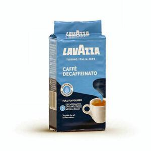 Lavazza Caffe Decaffeinato  Ground Decaffeinated Coffee 250g