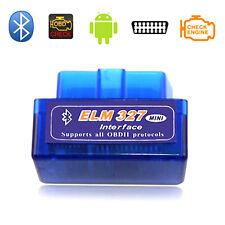 ELM327 OBD2 II V2.1 Bluetooth Car Diagnostic Scanner Android Torque Scan & CD