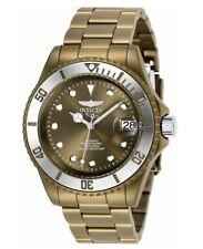 Invicta Pro Diver Automatic Men's 40mm Solid Khaki Brown Watch 27549 Super RARE