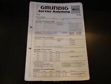 Original Service Manual Grundig  RF 810
